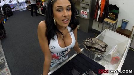 XXX Pawn – Big titty Latina is a slut for some cash