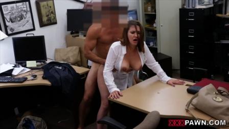 XXX Pawn – Foxy Business Lady Gets Fucked!