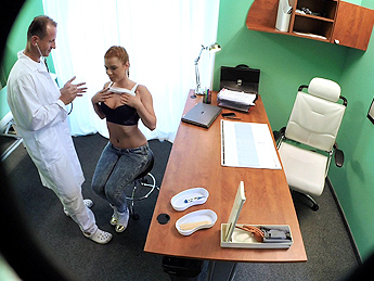 FakeHospital – Gorgeous redhead prescribed cock by her doctor