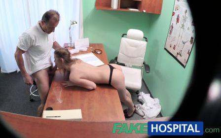 Fakehospital – Nurse sucks and fucks doctor