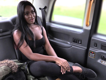 Faketaxi – Exotic dancer does backseat pleasures