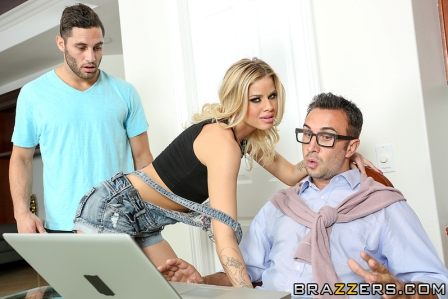 Brazzers – Your Father Fucks Me Harder