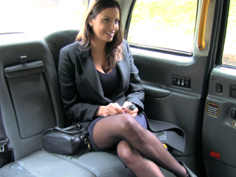 Faketaxi – Back seat fucking for hot Romanian babe