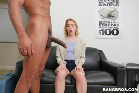 Bangbros – Amateur blonde fucked on cam for the first time