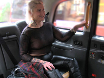 Faketaxi – Tattooed lady loves dirty anal sex
