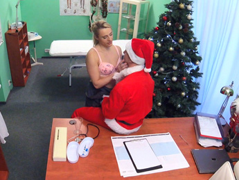 Fakehospital – Doctor Santa cums twice this year