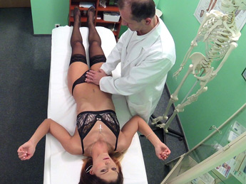Fakehospital – Dose of double cum cures tummy ache