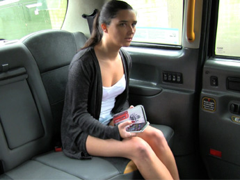 Faketaxi - Tight pussy gets a deep fucking