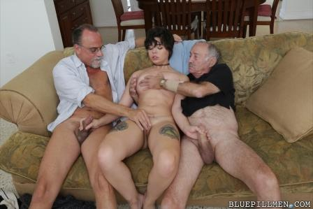Bluepillmen – Over 150 years of dick for this sexy brunette