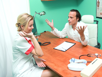 Fake hospital doctor offers blonde a discount on new tits Part 6