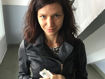 Tourist fucks for money in public