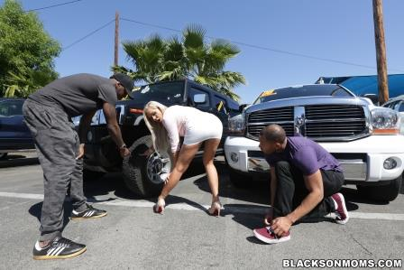BlacksonMoms – Nina Elle got a sweet ride of another form