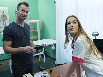 Fakehospital – Technician Paid With Blowjob