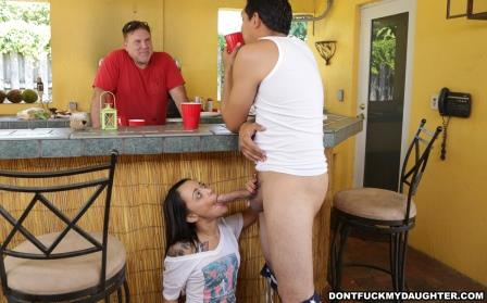DontFuckMyDaughter – Holly Hendrix Has Some Fun With Her Dads Friend