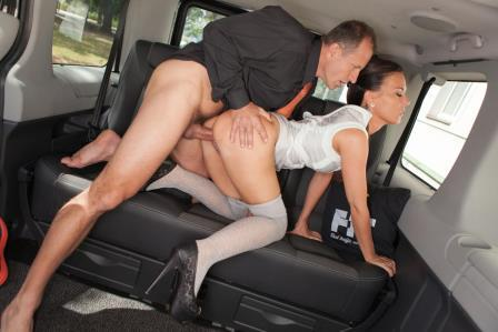 Fuckedintraffic – Brunette slut Alicia Wild giving BJ to her driver