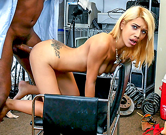 Blackloads – Spanish Broad Taking This Long Cock