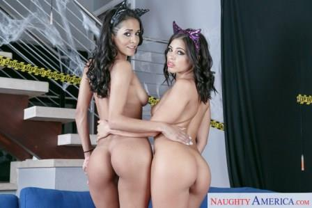 2 Chicks Same Time – Abby Lee Brazil Adriana Chechik