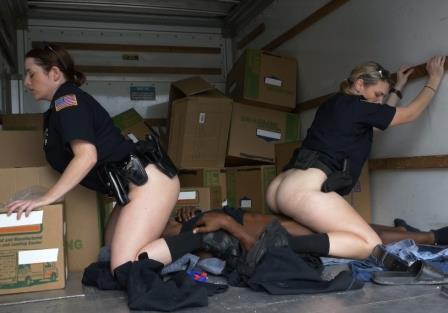Black Patrol – Black suspect taken on a rough ride