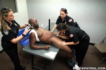Black Patrol – Milf Cops take down Illegal Prostitution Ring