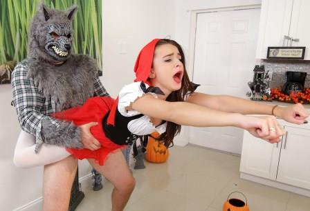 Dont Break Me – Brunette Spinner Fucks on Halloween