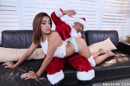 Abuse Me – Mia Martinez Xmas Punishment