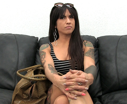 BackRoom Casting Couch - Morgan 26 Years Old