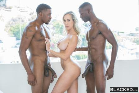 Blacked - Sexy Mom Takes 2 young BBCs