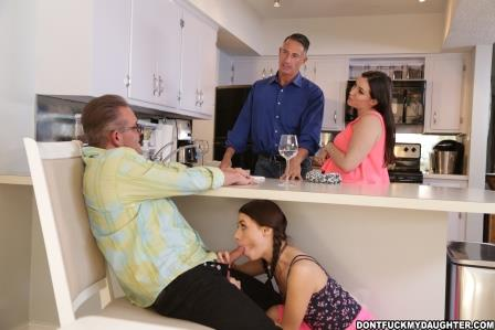 Dont Fuck My Daughter – Lucie Kline Takes Her Daddys Friends Cock