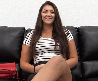 BackRoom Casting Couch - Madison 19 years Old