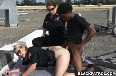 Black Patrol – Peeping Tom on our Asses