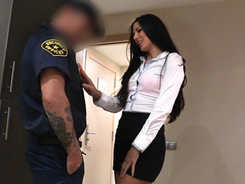 Fake Cop - Female Wanna Be Cop Having Hot Sex