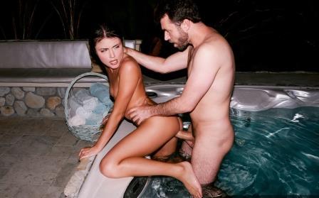 Baebz Adria Rae Hot Tub Fun
