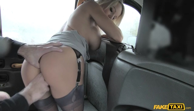 FakeTaxi Sexy Arse MILF in Knee High Boots