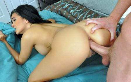 Lets Try Anal – Aaliyah gets a Booty Cumshot