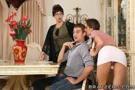 Brazzers Fucking the Family Friend