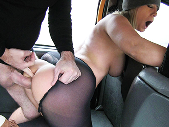 FakeTaxi Lady wants cock to keep her warm