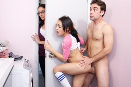 Bangbros 18 Almost Caught Fucking Her Stepbrother