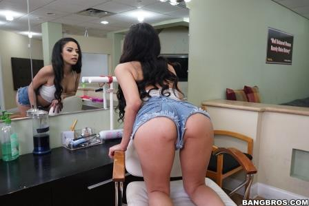 Bangbros Maya Bijou sucks and fucks so damn good