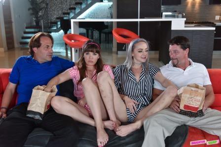 DaughterSwap Movie Night Madness