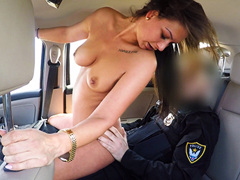 FakeCop Cops Cum Makes Her Late