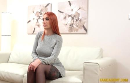 Fake Agent Redhead Prefers Cock Over Pussy