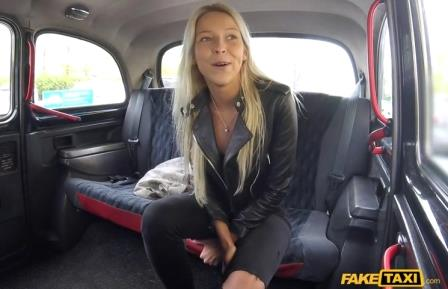 FakeTaxi Thick Cock Stretches Shaven Pussy