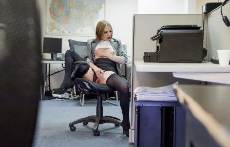 Pervs On Patrol Sexy Secretary's Secret Cam Work