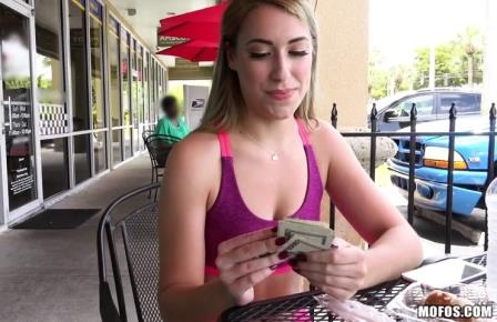 Public Pick Ups Post-Workout Treat for Gym Babe