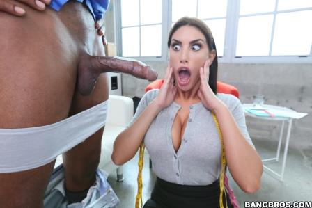 Bangbros August Ames to Please