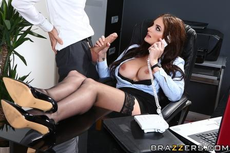 Brazzers One Very Important Business Call