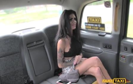 Fake Taxi Cheating Brunette in Anal Creampie