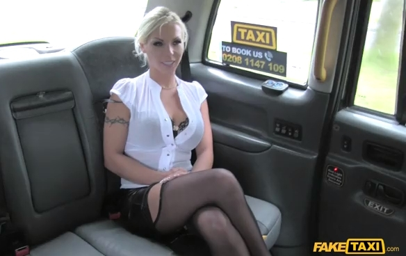 Fake Taxi Deepthroat Gagging MILF Gets Facial