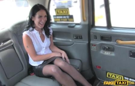 Fake Taxi Sex Mad MILF Loves to Ride Cock