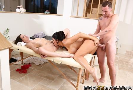 Brazzers Massage A Trois